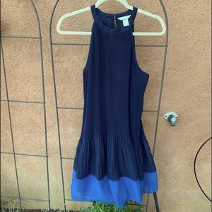 H&M blue sleeveless dress/tunic